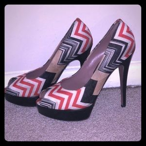 Missoni signature pumps